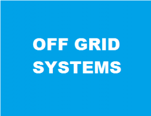 OFF GIRD SYSTEMS